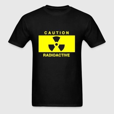 Caoutions Radioactive - Men's T-Shirt