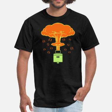 Vape Shirt - Atomic Vape - Men's T-Shirt