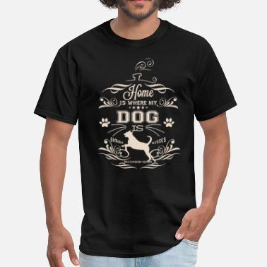 Finding Francis Home-Dog_cream - Men's T-Shirt