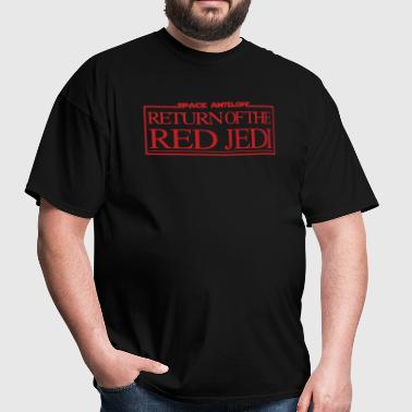 The Red Jedi - Men's T-Shirt