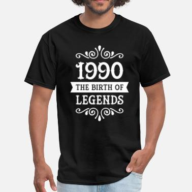 1990 Year Of Birth 1990 - The Birth Of Legends - Men's T-Shirt