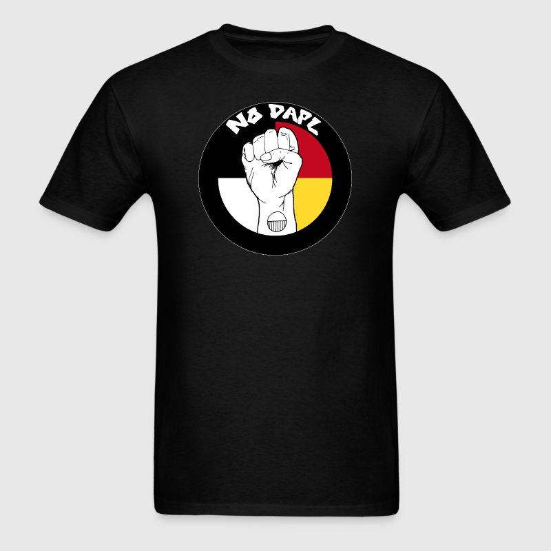 NoDAPL by Kardena Manycows (artist) - Men's T-Shirt