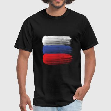 Russian Flag Russia flag russian - Men's T-Shirt