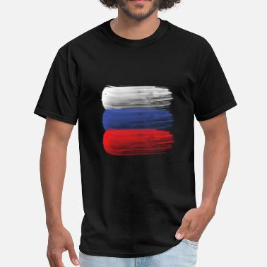 Russian Russia Russia flag russian - Men's T-Shirt