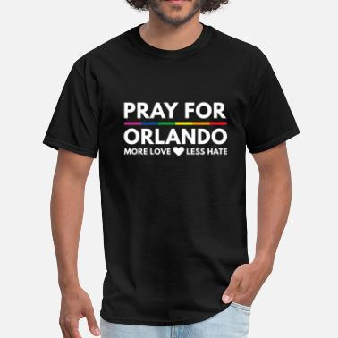 One Pulse Orlando Strong Pray For Orlando - Men's T-Shirt