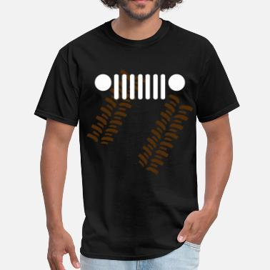 Jeep Grille jeep - Men's T-Shirt