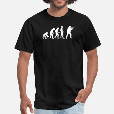 Evolution of source.png - Men's T-Shirt