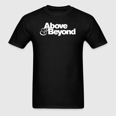 Above & Beyond Logo - Men's T-Shirt