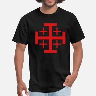 Jerusalem Cross Jerusalem Cross - Men's T-Shirt