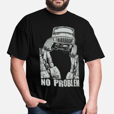 Jeep Cherokee Offroad Xj Jeep XJ Crawl No Problem - Men's T-Shirt