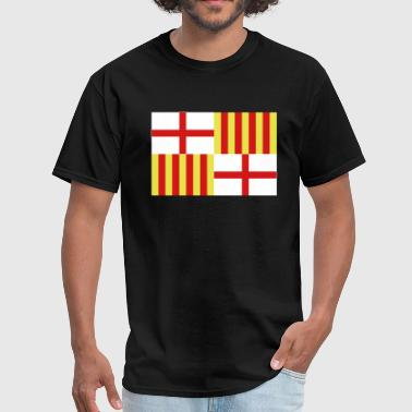 Barcelona Spain Spanish Flag Barcelona Spain - Men's T-Shirt