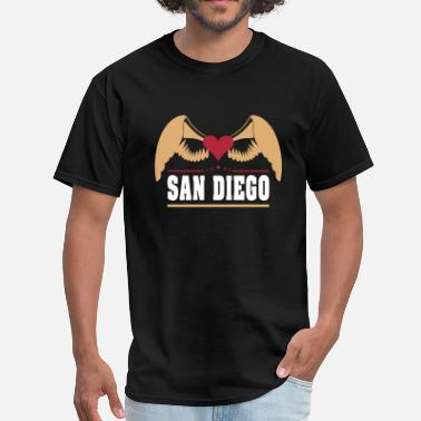 Cute San Diego Tops San Diego - Men's T-Shirt