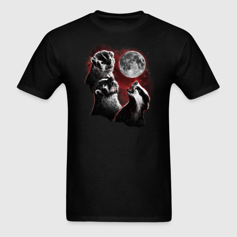 3 BADGER MOON - Men's T-Shirt