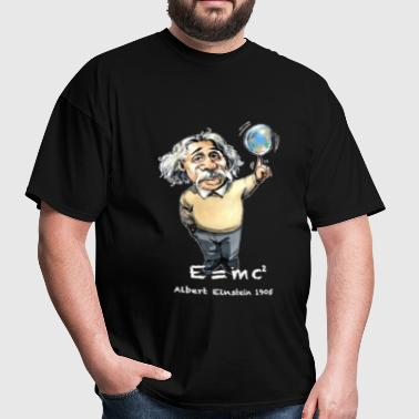 Albert Einstein E=MC 2 - Men's T-Shirt