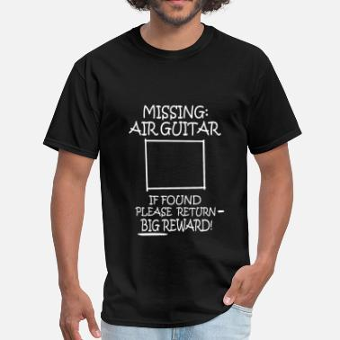 Air Guitar Missing Air Guitar - Men's T-Shirt
