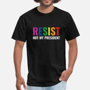 Trump Glbt Resist - Men's T-Shirt