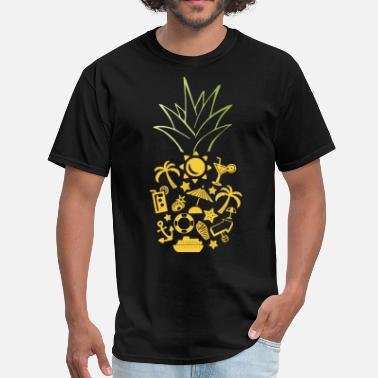 Clothes For Cruise cruise pineapple cruise - Men's T-Shirt