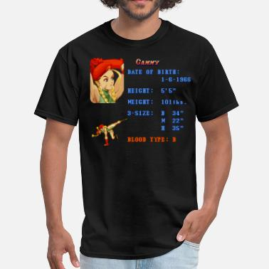 Beat Em Up Cammy Stats - Men's T-Shirt