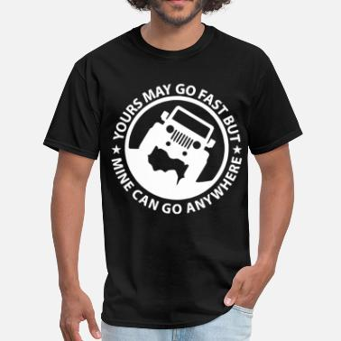 Basic Math Yours May Go Fast Mine Can Go Anywhere Graphic Tee - Men's T-Shirt