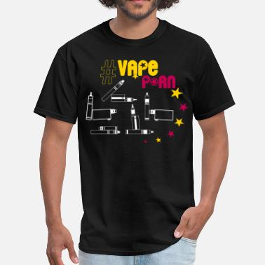 Vape-Shirt - #VapePorn - Men's T-Shirt