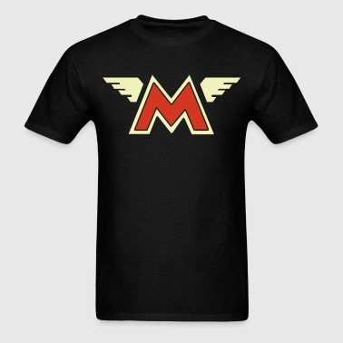 Matchless Retro Wing Style Motorcycle Printed Size - Men's T-Shirt