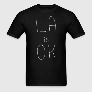 LA is OK inspired by Bojack Horseman Premium Fitte - Men's T-Shirt