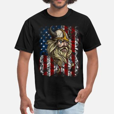 Warriors Germanic Tribes Viking Nordic Warrior American - Men's T-Shirt