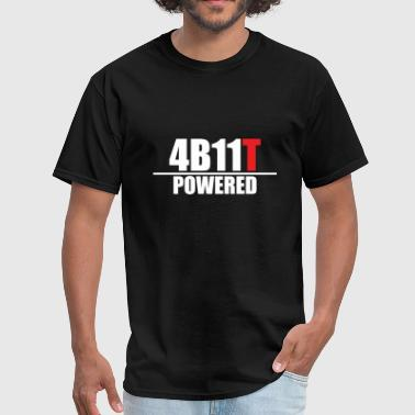 Lancer Evo 4B11T Powered - Men's T-Shirt