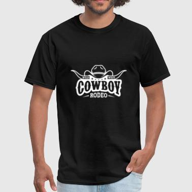 Rodeo Quotes Cowboy Rodeo Wild West - Men's T-Shirt