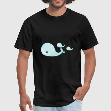 Blue whale - Men's T-Shirt