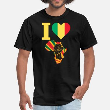 Mali Mali Black Power - Men's T-Shirt