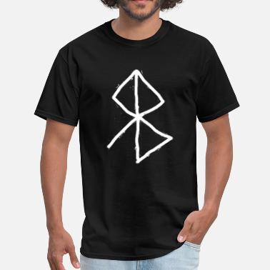 Runes Peace - Viking Symbol  A Rune based symbol meaning - Men's T-Shirt