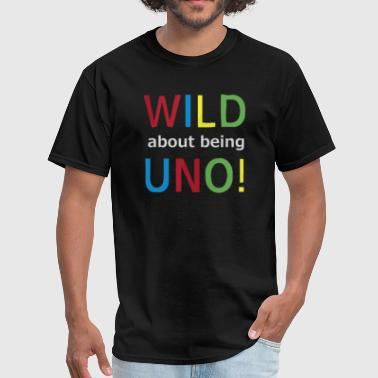 Drinking Game Quotes Wild Uno Funny Quote Card Game - Men's T-Shirt