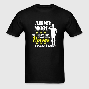 Army Mom Shirt - Men's T-Shirt