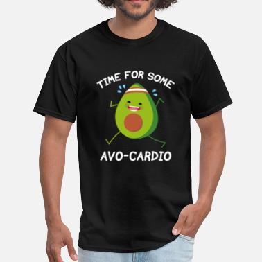 Avo Time For Some Avo-Cardio - Men's T-Shirt