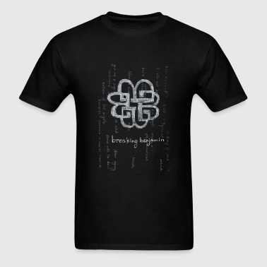 Breaking Benjamin Logo Matrix - Men's T-Shirt