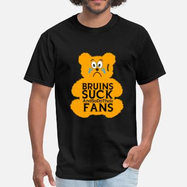 Bruins Bruins Suck Teddy - Men's T-Shirt