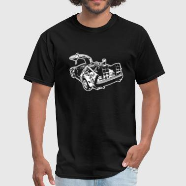 Defensive Back Back to the Future - Men's T-Shirt