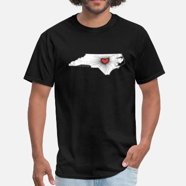 Nc State Wolfpack Raleigh Love - NC State Wolfpack - white/red - Men's T-Shirt