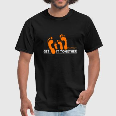 Family Care Families Together | Family Gift Idea - Men's T-Shirt