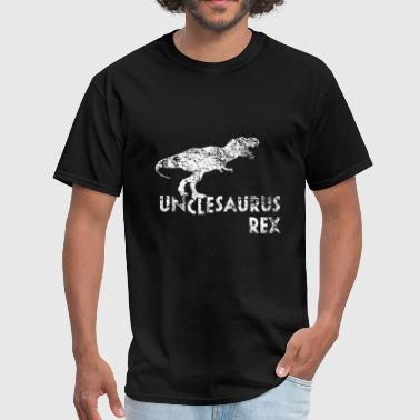 Funny unclesaurus rex for uncle hot - Men's T-Shirt