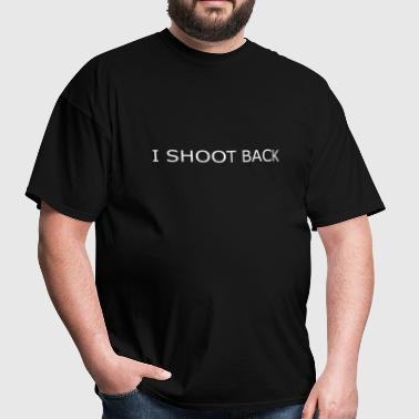 I shoot back 2 - Men's T-Shirt