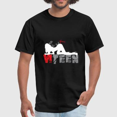 Black_Sweet Sixteen - Men's T-Shirt