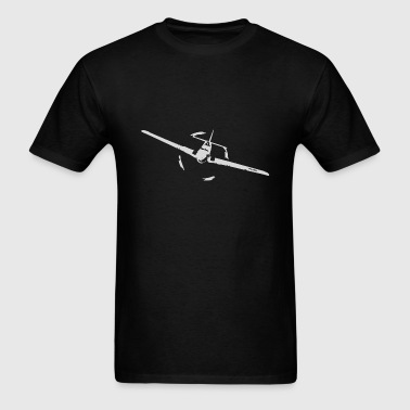 P51 world war ii airplane - Men's T-Shirt