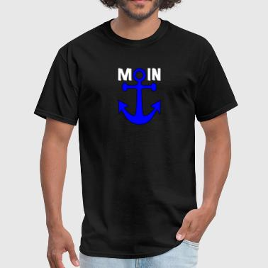 Anchor Northern-Germany Harbour - Men's T-Shirt