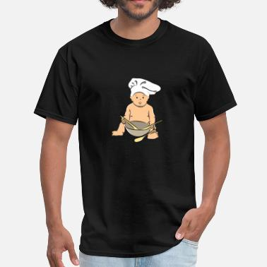 Motherly Love Baby Chef Cute Motherly Love Design Gift Idea Kid - Men's T-Shirt
