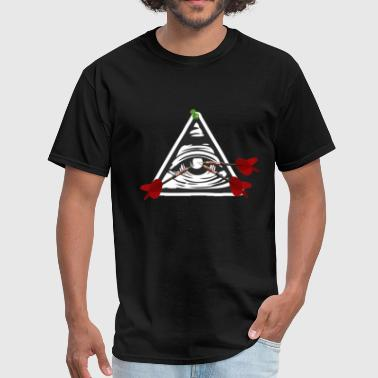 Anti Illuminati F Illuminati - Men's T-Shirt