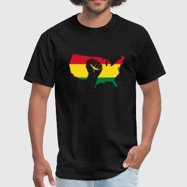 Educated African american - african american black power - Men's T-Shirt
