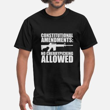 Not Allowed No Cherrypicking Allowed - Men's T-Shirt