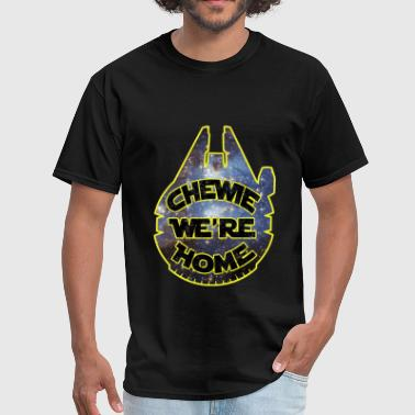 chewie, we're home-falcon - Men's T-Shirt